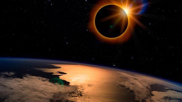 El fenómeno Eclípse  solar asi  se vió en todo el Mundo