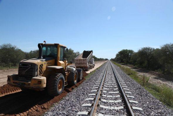 Resultado de imagen para Chaco ya cuenta con 130 km de vías nuevas de tren